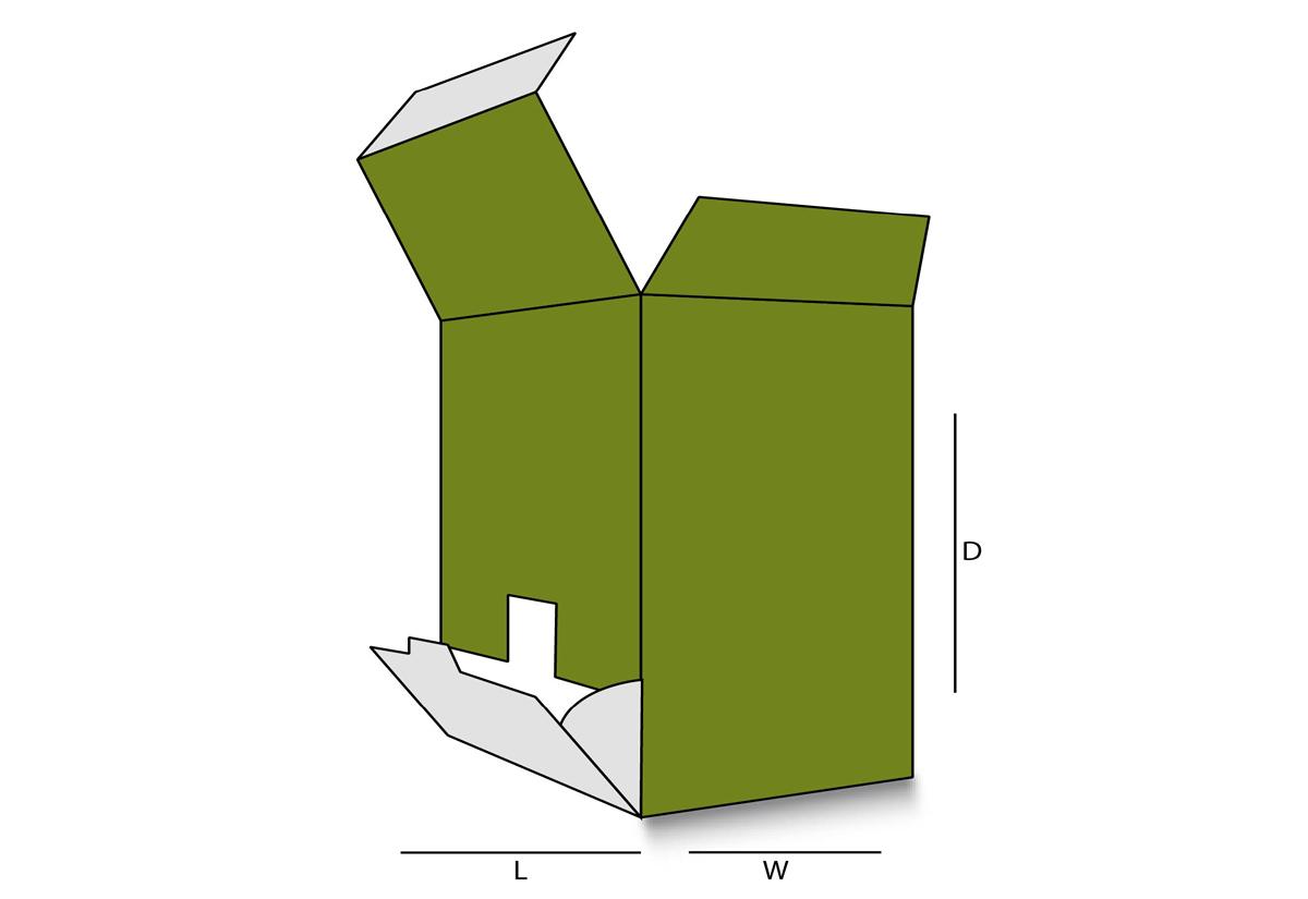 Flip Out Dispenser Box