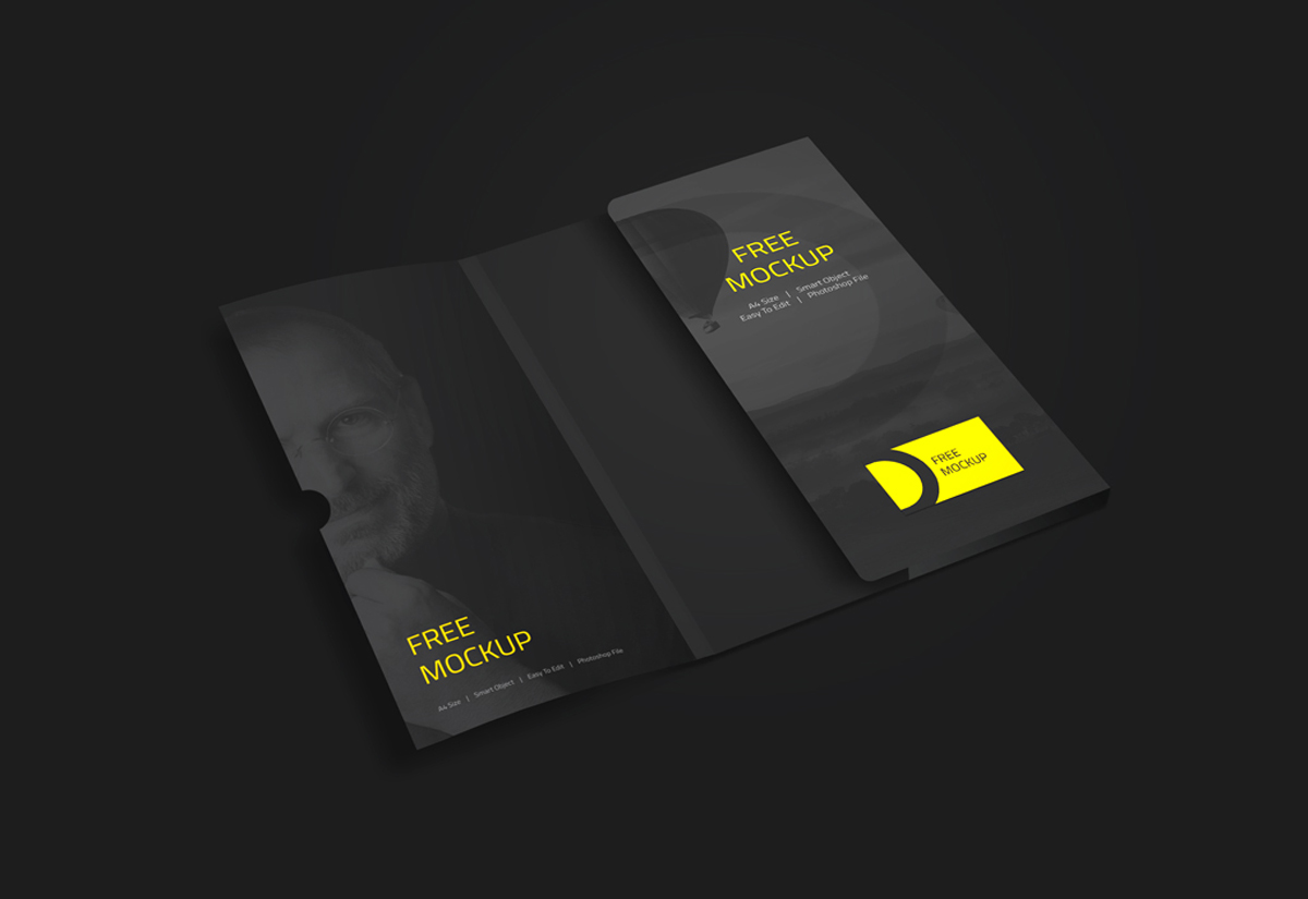 Folder Business Card