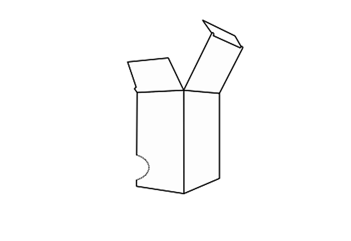 Perfor Dispenser Box