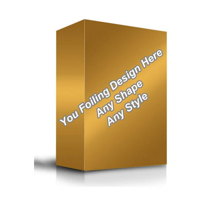 Golden Foiling - Product Packaging Boxes