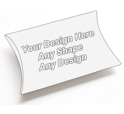 Cardboard - Pillow Style Packaging Boxes