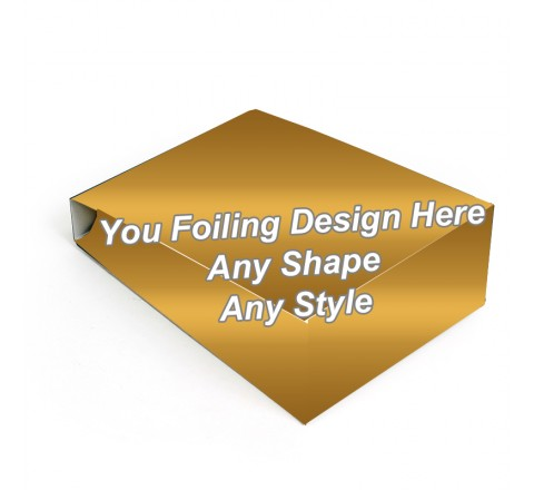 Golden Foiling - Gable Bag Packaging