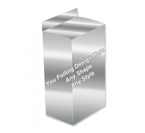 Silver Foiling - Lotion Packaging Boxes