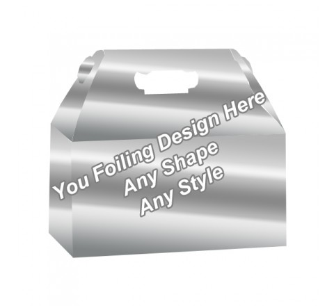 Silver Foiling - Window Gable boxes