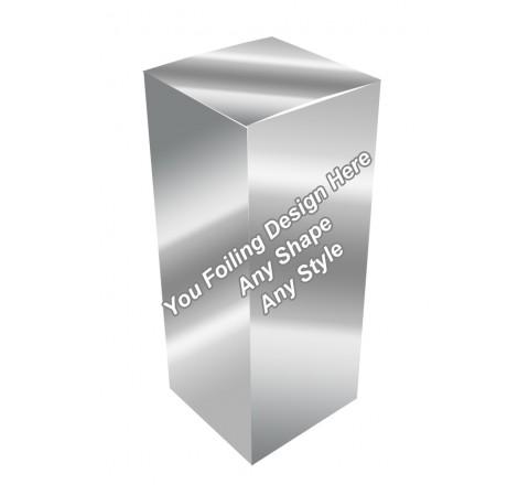 Silver Foiling - E Liquid Boxes